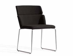 Concord 522UV, Gepolsterter Stuhl mit Metallkufengestell