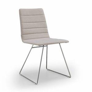 Firenze-M, Stuhl mit Schlittenfuß
