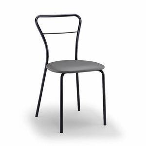 Koda, Küchenstuhl aus Metall