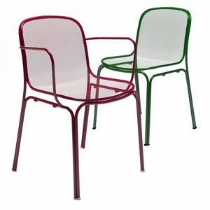 Villa, Stuhl komplett aus Metall für den Außenbereich