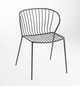 Amitha, Metallstuhl für den Außenbereich