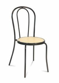 Torino, Stapelbarer Stuhl für längeren Gebrauch