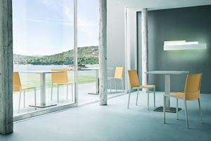Over, Lineare Stuhl aus Polypropylen und Polymer