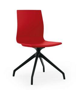 Q3, Stuhl mit Spinnengestell aus Nylon