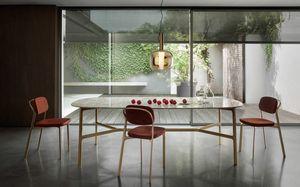 Coast Table, Tisch mit Marmorplatte