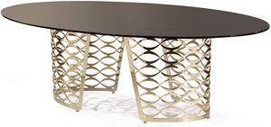 Isidoro Tisch, Moderner Tisch mit ovaler Platte