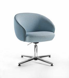 Botero Mignon, Sessel mit automatischer Sitzrückstellung