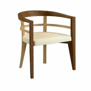 Bramante 3880, Sessel mit umhüllender Form
