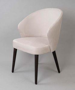 BS468A - Sessel, Gepolsterter Sessel mit Stoffbezug