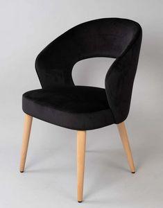 BS475A - Sessel, Gepolsterter Sessel mit gepolstertem Rücken