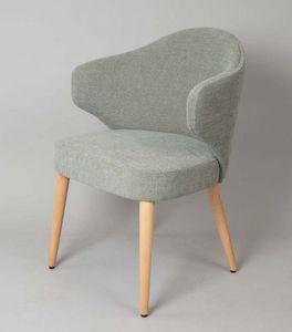 BS478A – Poltrona, Gepolsterter Sessel mit gepolstertem Rücken
