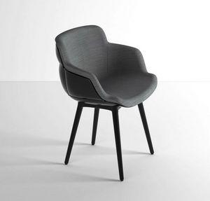 Choppy Sleek BP, Lounge Sessel aus Polymerstahl