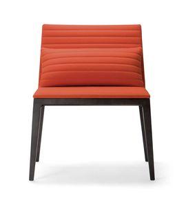 COCÒ ARMCHAIR 015 L, Sessel mit einem wesentlichen Design
