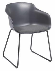 Dame ST, Stuhl mit Schlittenfuß