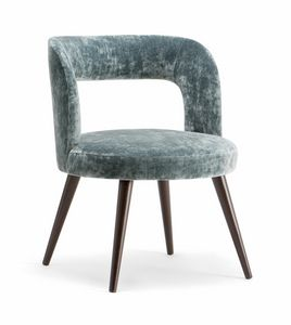 HOLLY ARMCHAIR 065 PO, Sessel mit abgerundetem Design