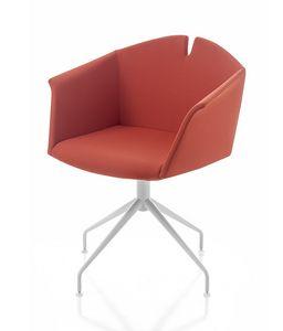 Kuad, Sessel mit Bockboden, auch mit Rollen
