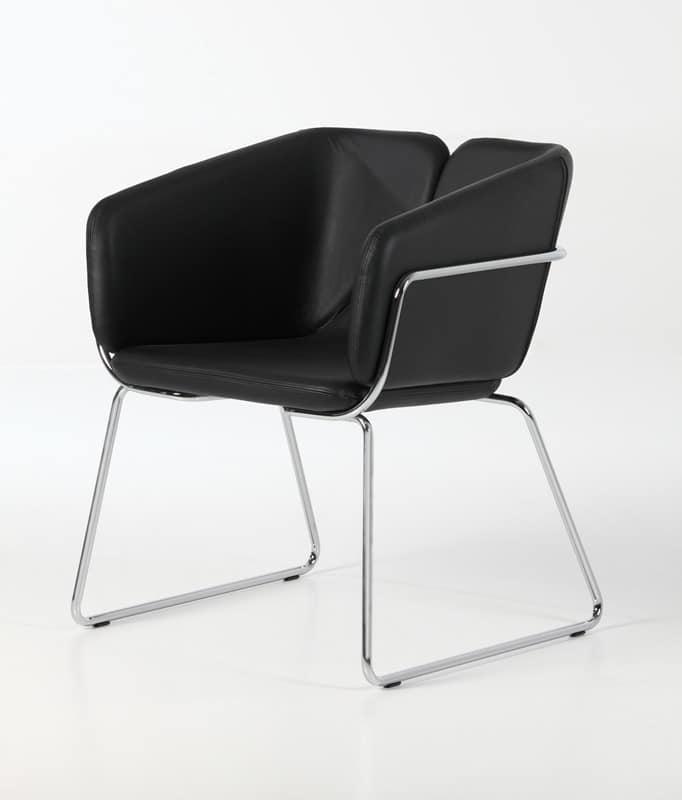 Mixx sled, Moderne Sessel, bequem und vielseitig, für Büros, Hotels und Restaurants