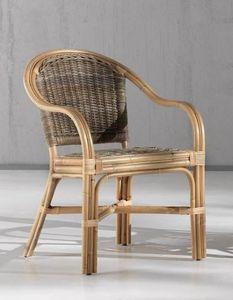 Sessel Aranda, Ethnischer Sessel im natürlichen Schilf