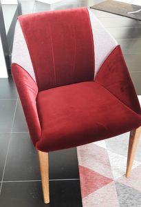 Sveva, Gepolsterter Stuhl zum Outlet-Preis