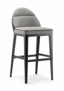 ASTON BAR STOOL 062 SG, Hocker mit linearem und einfachem Design