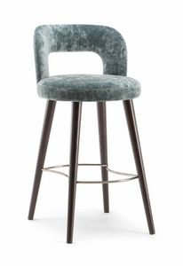 HOLLY BAR STOOL 065 SG, Weich geformter Hocker