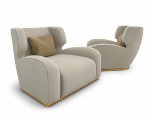 Barks, Sessel mit weichen Formen