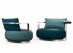 Botero, Sessel mit weichen Formen