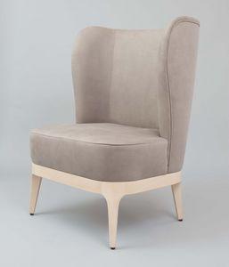 BS452A - Sessel, Sessel mit hohem Rücken