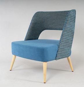BS491P - Sessel, Bequemer Sessel mit großem Sitz
