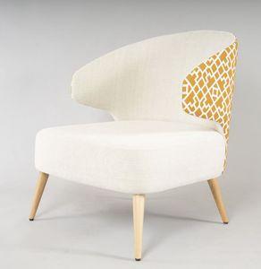 BS524A - Sessel, Sessel mit großem Sitz