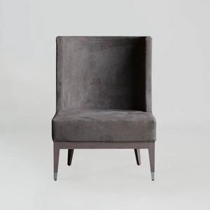 BS601A - Sessel, Moderner Sessel mit hoher Rückenlehne