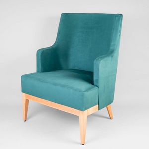 BS601P - Sessel, Bequemer gepolsterter Sessel