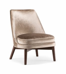 CELINE LOUNGE CHAIR 077 P, Liegestuhl mit hoher Rückenlehne