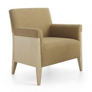 Charme 02541, Lounge Sessel ideal für Wartebereiche und Hotel
