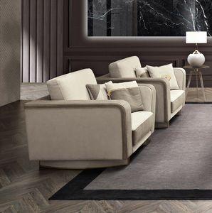 Diamond Sessel, Sessel mit Samt oder Leder bezogen