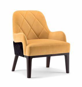 GILL LOUNGE CHAIR 070 P, Sessel mit tiefem Sitz