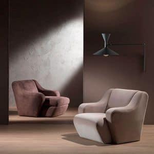 PO41 Morfeo Sessel, Bequemen Sessel, mit Polyurethanschaum gepolstert