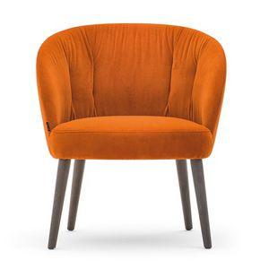 Rose 03070 - 03071 - 03079, Lounge Sessel mit niedrigem Sitz