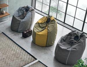 Sacco Comodo, Sitzsack mit verschiedenen Nähten