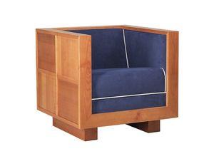 Scacchi 3870, Sessel mit kubischer Struktur