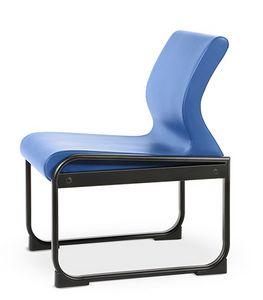 ONE 401 S, Stuhl mit Metallgestell, leicht zu reinigen