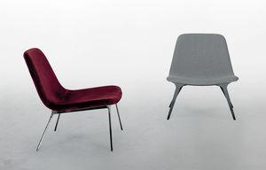 SVEVA, Sessel mit einem weichen zeitgenössischen Design