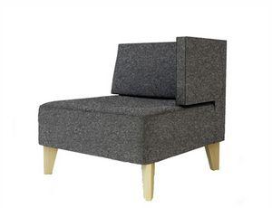 Urban 836 1BL 1BR, Modularer Sessel für Wartebereiche
