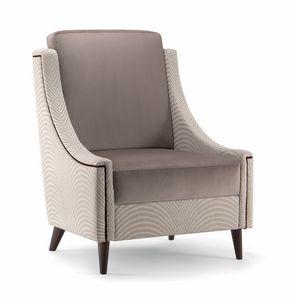 VICTORIA LOUNGE CHAIR 019 P, Sessel für Räume der Entspannung