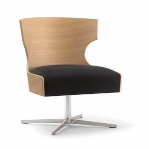 XIE LOUNGE CHAIR 052 P X, Sessel mit Sperrholzschale