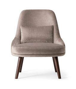 ZOE LOUNGE CHAIR 069 P, Bequemer Sessel