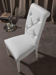 Art. 124 Billionaire, Eleganter Stuhl für Esszimmer, Rücken Tufting