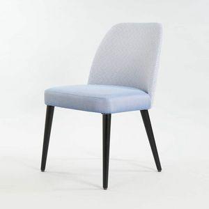 BS498S - Stuhl, Moderner gepolsterter Stuhl
