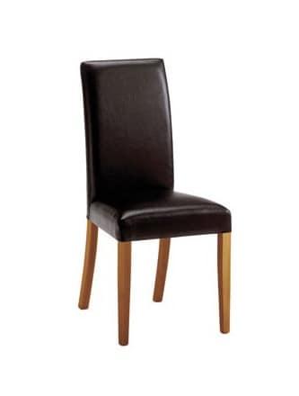 C03, Moderne Holzstuhl, gepolstert, für Konferenzräume