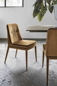 DALLAS SE616, Stuhl mit zweifarbiger Polsterung